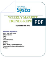 Weekly Market Trends Report Sept. 14 12
