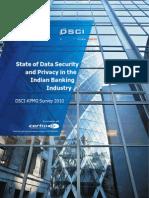 DSCI KPMG Banking Survey