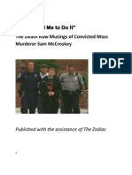 """""""Jesus Told Me to Do It"""" The Death Row Musings of Convicted  Mass Murderer Sam McCroskey"""