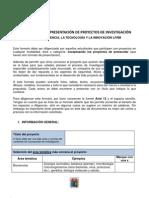 INDICACIONES PARA LA ELABORACIÓN DEL PROYECTO DE INVESTIGACIÓN