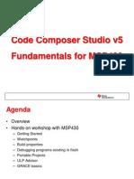 Code Composer Studio v5 Fundamentals for MSP430