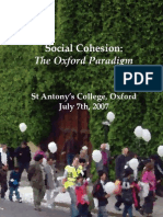 Social Cohesion Report 2007