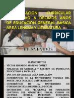sesion 1-2 presentacion lengua y literatura 8-10 años