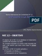 Nic 12 - Impuesto a La Renta
