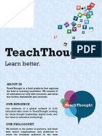 TeachThought Media Kit