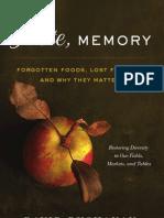 Taste, Memory