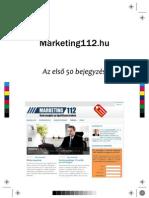 Az első 50 kkv marketing blogbejegyzés