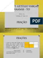 FRAÇÃO - 6° ANO