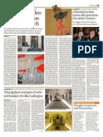 2.9.2012, 'Dalleville Ai Video. Un Secolo Di Idee Firmate Vucetich', Il Giornale Di Vicenza