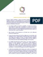 Manifiesto Mujeres Populares y Diversas