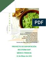PROYECTO DE EXPORTACIÓN DE GUACAMOLE A FRANCIA_Terminado