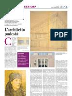10.9.2012, 'Matteo Focaccia. L'artista ravennate che progettò alcune delle più belle architetture romagnole del ventennio, segregato nell'oblio e da far rinascere', La Voce di Romagna