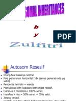 Chromosomal Inheritance - Dr. Zulfitri