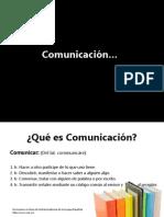 Qué es Comunicación