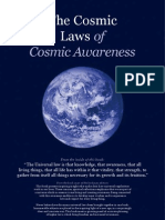 The Laws of Cosmic Awareness