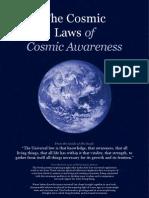 The Laws of Cosmic Awareness