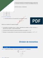 Division Polinomios