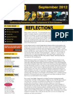 RD Williams - September 2012 Newsletter