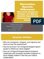 Welcoming Immigrant, Refugee, and Migrant Students Experiencing Homelessness into Our Schools