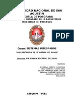 Trabajo_implementacion Iso 14001