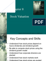 08 Stock Valuation
