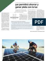 Ley Para Generar La Propia Energia - 10 Sept 2012 , Diario Las Ultimas Noticias