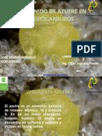 Contenido de Azufre en Hidrocarburos Jose