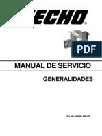 Manual de Servicio - Generalidades