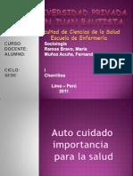 Autocuidado Dorotea Orem+