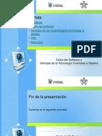 Introduccion Analisis Diseno OO 1-Unidad 1-01 Crisis Software