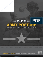 ARMY POSTURE 2012