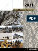 Army Strategic Planning Guidance 2011