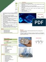 Fichas de Informacion de Polimeros y Aplicaciones Como Biomateriales
