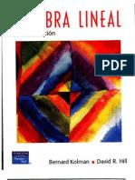 Algebra Lineal, Kolman