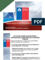 MINISTERIO DE JUSTICIA MODIFICACIÓN REGIMEN CORPORACIONES