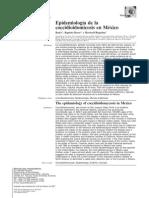 Epidemiología de la coccidioimicosis