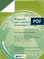 Propostas para uma Nova Governança Mundial