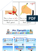 Free Pencil Grip Poster Page
