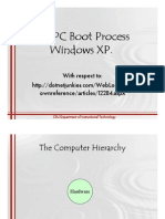 The PC Boot Process