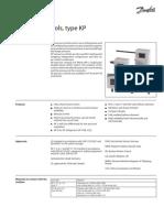 Danfoss - Pressure Control KP1, KP5