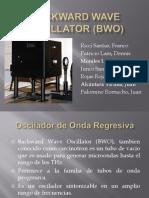 Backward Wave Oscillator