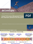 Annual Performance Management Process - Overview for Employees