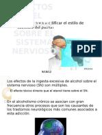 El Alcohol y El Sistema Nervioso (2)