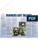Rice Today Vol. 11, No. 4 Farmers got talent