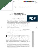 Retos y Desafios de La Ciencia Politica Jose Antonio Rivas Leone