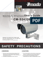 Motion Detection SD Card Camera User's Guide