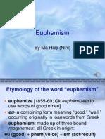 6.13 Euphemism