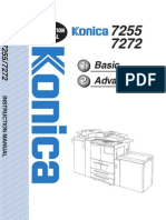 Konica Bizhub 7272 - User Manual
