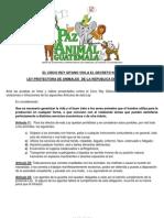 CIRCO REY GITANO y otros circos violan Decreto N°870  mayo 2008