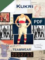 Kukri Teamwear Brochure